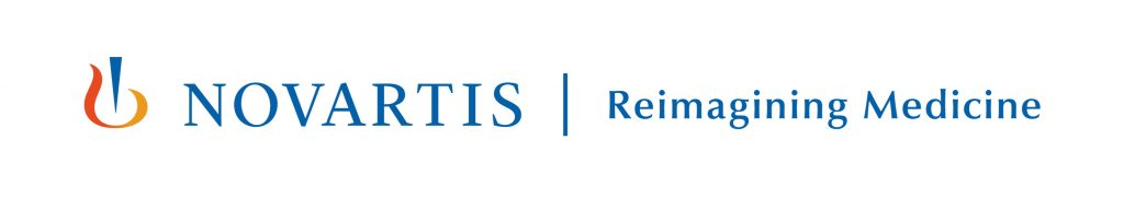 Logo: Novartis - Reimagining Medicine